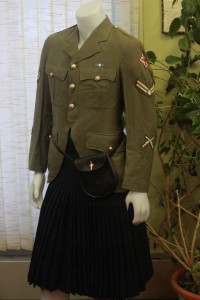 Ben Hodder's Military Uniform